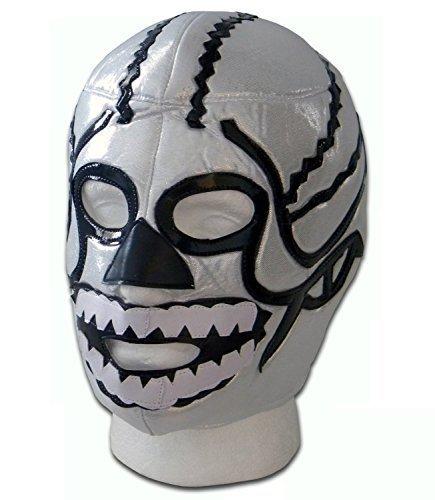 WRESTLING MASKS UK Men's Brother Death Skull Mexico Lucha Libre Wrestling Mask One Size Multicoloured