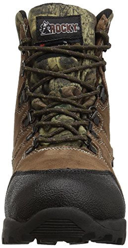 Hiking Rocky 3710 Mossy Infinity Youth Toe Steel Leather Boot Brown Leather Oak XXHxw71Anq