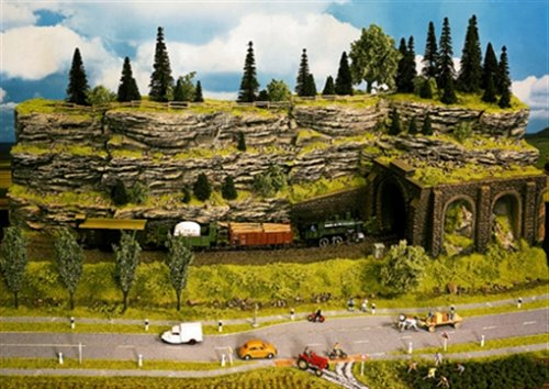Noch 58480 Stratified Rock Wall G,0,H0,Tt,N,Z Scale Model Kit