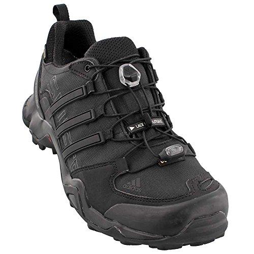 adidas outdoor Men's Terrex Swift R GTX Black/Black/Dark Grey Hiking Shoes - 12 D(M) US