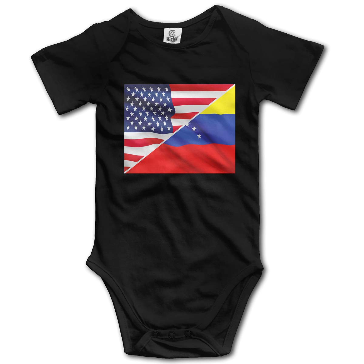 J122 Newborn at The Heart of US Venezuela Relations Short Sleeve Climbing Clothes Romper Jumpsuit Suit 6-24 Months