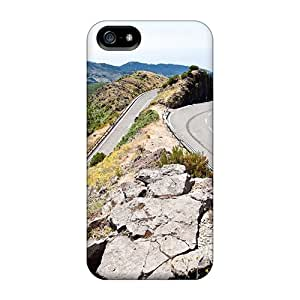AlexandraWiebe OFh39132rXBZ Cases For Iphone 5/5s With Nice Alpine Road In Summer Appearance