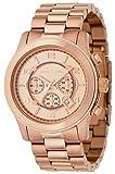 Michael Kors Runway Chronograph Rose Gold-tone Unisex Watch MK8096, Watch Central
