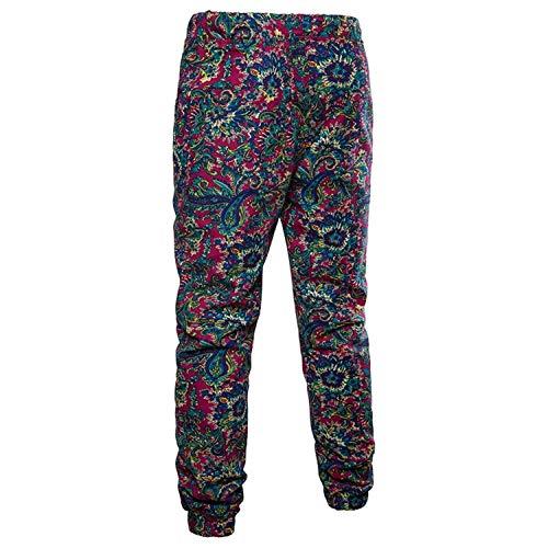 3d Floreale Casual Ragazzi Stampa Laisla Classiche Jogging Da Allenamento Pantaloni Estivi Lunghi In Lino Sportivi Con Fashion qRFY0