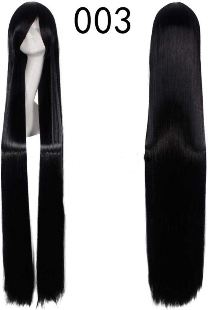 YMOY Perruques de cheveux raides de 150cm de long Anime Cosplay Perruque,antique perruque mode perruque anime