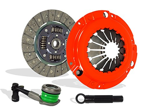 - Clutch And Slave Kit Works With Cavalier Sunfire 2002-2005 2.2L In. l4 GAS DOHC Naturally Aspirated (On 2002 Chevrolet Cavalier and Pontiac Sunfire, for VIN F, Disc size is 8 7/8 x 1 x 14; Stage 1)