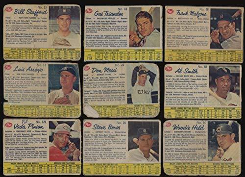 1962 Post Canadian Baseball G avg v low grade lot of 36 diff cards BV 290 ()