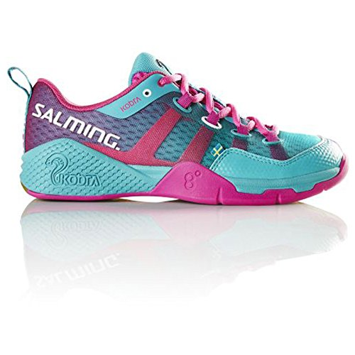 Chaussures Femme Salming Kobra turquoise/rose