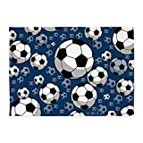 CafePress - Soccer 5'x7'Area Rug - Decorative Area Rug, 5'x7' Throw Rug