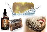 Beard Wash - Beard Oil - Beard Trimmer - Beard Comb - Beard Growth - Beard Kit - Mens Grooming Kit - Beard Shampoo - Beard Care - Beard Conditioner - Mustache Comb - Beard Softener - Beard Soap.