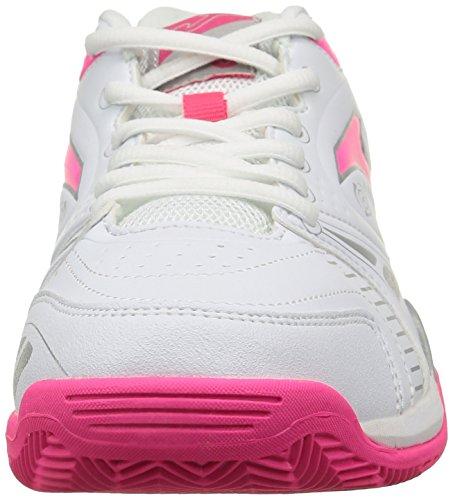 JOMA Match Lady - Zapatillas de tenis para mujer Blanco / Coral 522