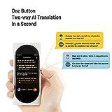 Langogo Genesis 2-in-1 AI Translator Device and