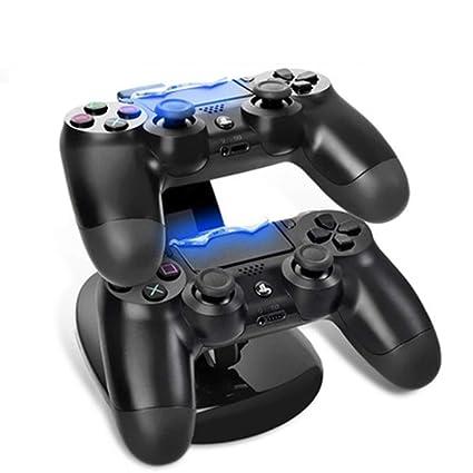YAOkxin Cargador de Gamepad para PS4 Pro Soporte de Cargador ...