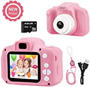 Digital Camera for Kids,ASIUR 1080P FHD Kid Digital Video Camera Children Camera with 16GB SD Card for 3-10 Ye