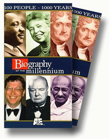 Biography of the Millennium: 100 People -1000 years [VHS]