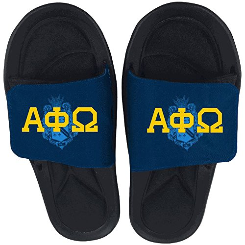 Alpha Phi Omega Slide On Sandals Multicolored gpZyDY