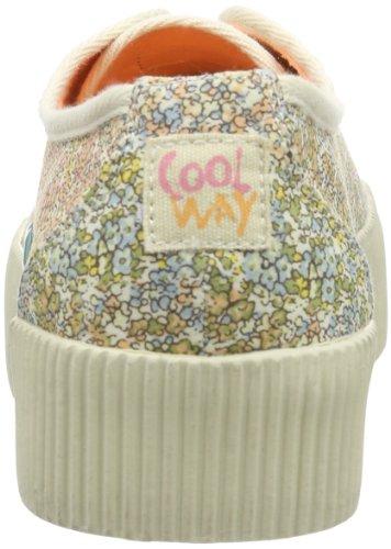 Coolway MENPHIS MENPHIS Damen Schnürhalbschuhe Mehrfarbig (FRS)