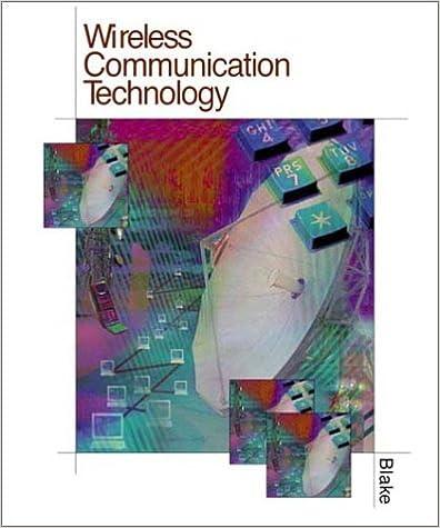 Wireless Communication Technology: Roy Blake, Leo Chartrand ...