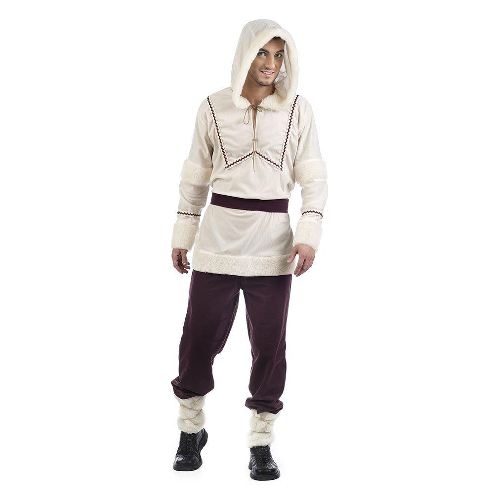 Limit Sport- Eskimo Disfraz Esquimal Nanuk, Color beige, marrón, L ...