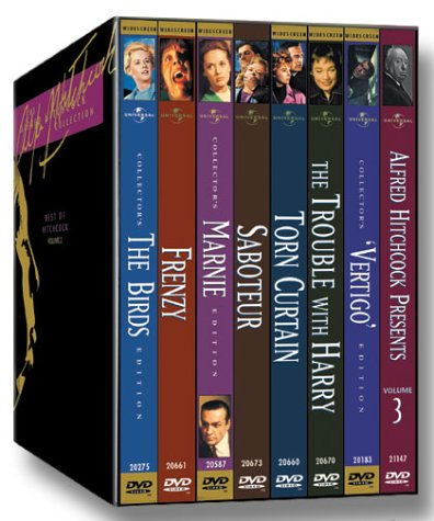 The Alfred Hitchcock Collection: The Best of Hitchcock, Vol. 2 (Vertigo / The Birds / The Trouble with Harry / Frenzy / Marnie / Saboteur / Torn Curtain / Alfred Hitchcock Presents Vol. 3) by Universal Studios