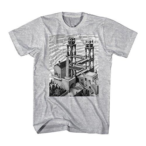 M.C. Escher Men's Relativity Graphic T-Shirt