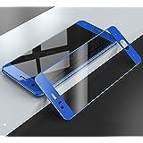 MOCOCO ESSENZA 3D Curved Edge 9H Hardness Oleo phobic Coating Tempered Glass for Huawei Honor V10 (Blue, MOCOENS_46)