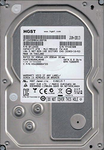 MRKA10 2TB 0F12455 MLC HGST HUA723020ALA640 P//N