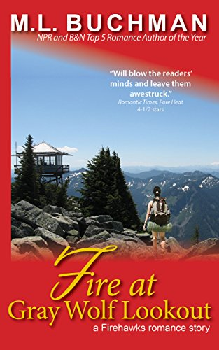 book cover of Fire at Gray Wolf Lookout