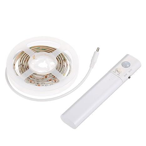 Lixada 30 Leds Sensible PIR Sensor de Movimiento Luz de Tira Lámpara de Gabinete