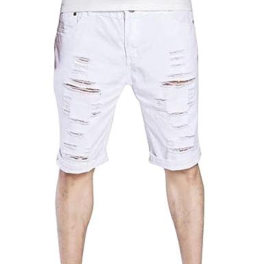 Pantalones Cortos De Los Longitud Pantalones De Carga Hombres ...