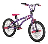 X-Games FS-20 BMX/Freestyle Bicycle, 20-Inch, Purple/Pink