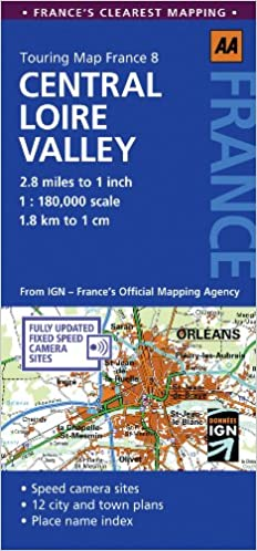 EXCLUSIVE Touring Map Central Loire Valley (Touring Map France). ensure Atlantic forma MEDIAS break services