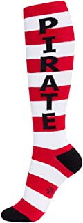 product image for Gumball Poodle Pirate Knee High Tube Socks Unisex Novelty Wear