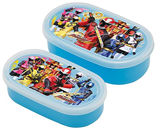 Shuriken Sentai Ninninger Seal Food Containers 2P 341530