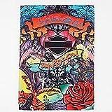 Harley Davidson Graffiti Hers Design Garden Flag Banner