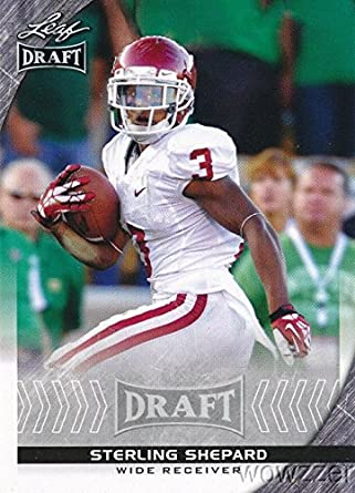 Amazoncom Sterling Shepard 2016 Leaf Draft 81 Rookie Card