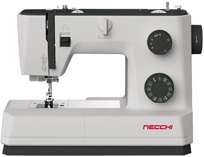 Necchi Q132A máquina de coser hilo de aguja automático, 32 puntos ...