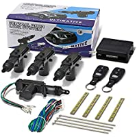 T4 Keyless Entry 4-Door Lock Convertion Kit With Remotes