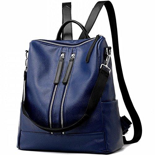 main main a Cuir d'épaule M013 Sac pu Femme Mode en Blue Sac PU Simple Filles Sacs Pour à 50nRvCw