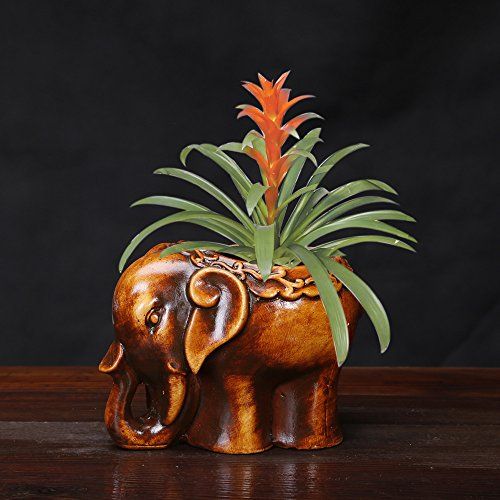 The elephant meat plant pots ceramic handicrafts by Spie