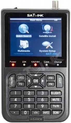 Satlink Satfinder - Buscador de satélite para TV, color negro (importado): Amazon.es: Electrónica