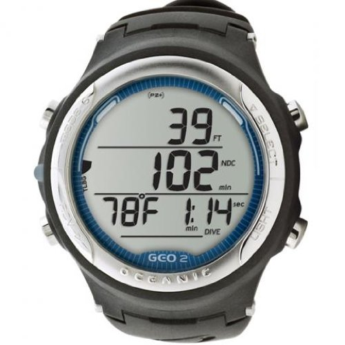 Oceanic GEO 2.0 Computer, Slate Blue Alarm Chrono Watch Instructions