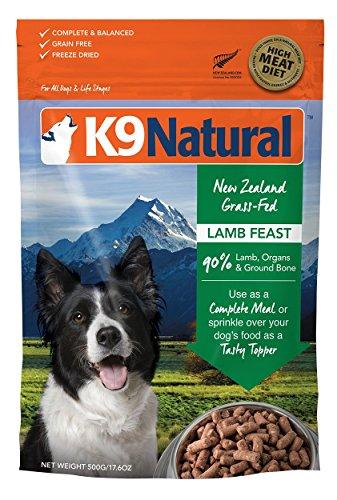 K9 Natural Canine Natural Freeze Dried Pet Food, 1.1-Pound, Lamb