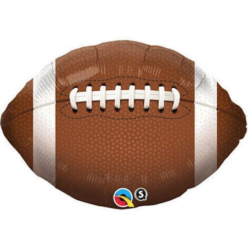36 Inch Football Mylar Balloon - Huge 3