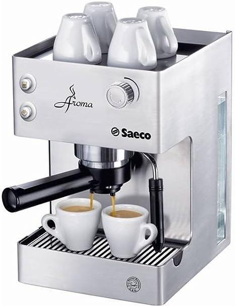Saeco - Cafetera Espresso Aromainox Ri937601 Manual, 15 Bares ...