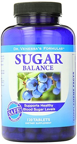(Dr. Venessa's Formulas Sugar Balance Support, 120 Count by Dr. Venessa's)