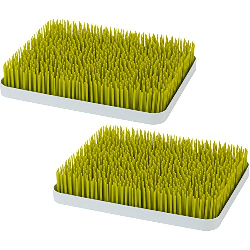 Boon Lawn Countertop Drying Rack, Green, 2 Pack