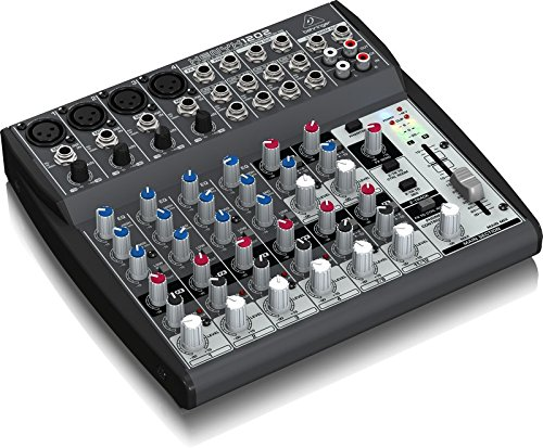 Behringer XENYX 1202 2-Bus Mixer with Mic Preamps, 3-Band EQ Bundle with Blucoil 10-Ft Balanced XLR Cable and 5 Pack of Cable Ties by blucoil (Image #1)