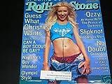ROLLING STONE # 844/845 MAGAZINE---CHRISTINA AGUILERA--JULY 6-20 TH, 2000
