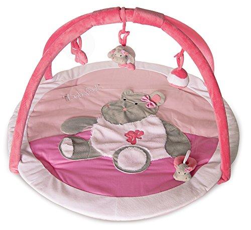 Baby Nat 'tappeto di Eveil zoé l' ippopotamo rosa